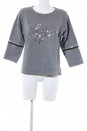 More & More Sweatshirt grau Casual-Look