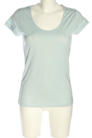 More & More T-Shirt türkis Casual-Look