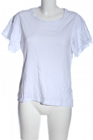 More & More T-Shirt weiß Casual-Look