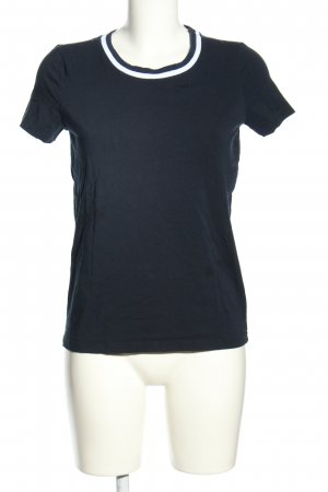 More & More T-Shirt blau Casual-Look