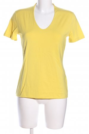More & More T-Shirt blassgelb Casual-Look