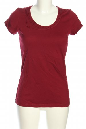 More & More T-Shirt rot Casual-Look