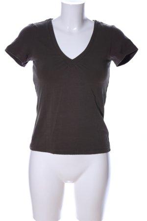 More & More T-Shirt braun Casual-Look