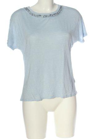More & More T-Shirt blau Casual-Look