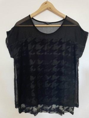 More & More - T-Shirt - Schwarz - Grau - Größe 36
