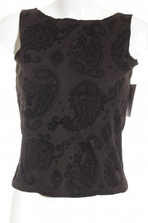 More & More Tanktop taupe-schwarz Casual-Look
