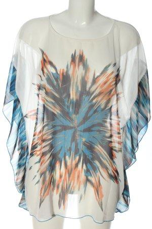 More & More Blusa trasparente motivo floreale stile casual