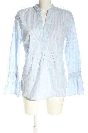 More & More Tunikabluse blau-weiß Streifenmuster Casual-Look