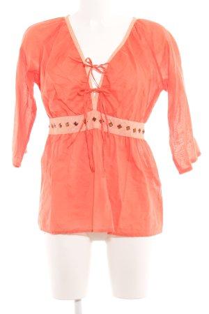 More & More Tunikabluse lachs-apricot Elegant