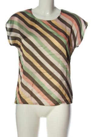 More & More Boothalsshirt gestreept patroon casual uitstraling