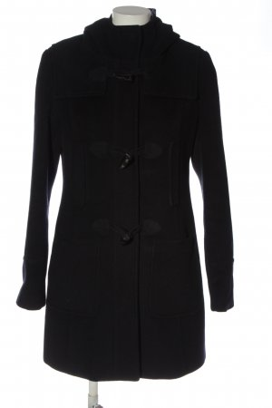 More & More Between-Seasons-Coat black casual look