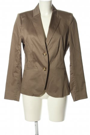 More & More Unisex blazer bruin zakelijke stijl