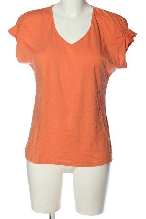 More & More Koszulka z dekoltem w kształcie litery V jasny pomarańczowy