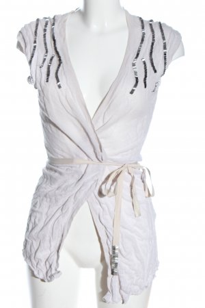 More & More Wraparound Shirt white-silver-colored casual look