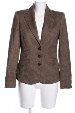 More & More Woll-Blazer braun Business-Look