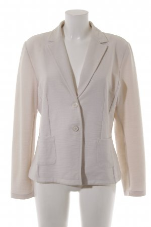 More & More Woll-Blazer creme Business-Look