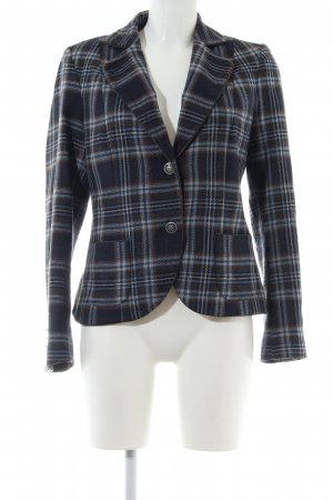 More & More Woll-Blazer Karomuster Business-Look