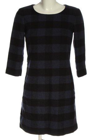 More & More Wełniana sukienka niebieski-czarny Na całej powierzchni