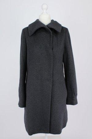 More & More Manteau en laine gris anthracite