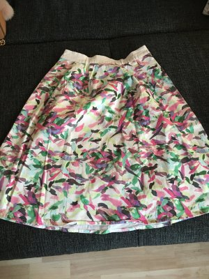 More & More Asymmetry Skirt multicolored cotton