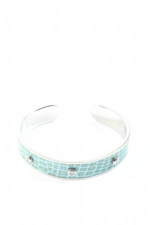 Morellato Mouwband zilver-wolwit abstract patroon casual uitstraling