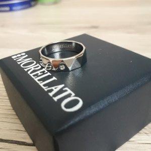 Morellato Ring aus Italien, Edel-stahl   mit Diamant,  Gr. 55
