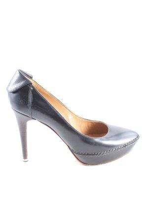 Moreschi High Heels schwarz Business-Look
