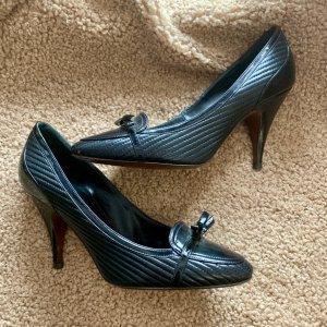 Moreschi High Heels black leather