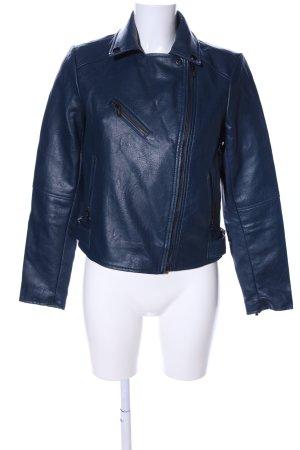Morgan Bikerjacke blau Casual-Look