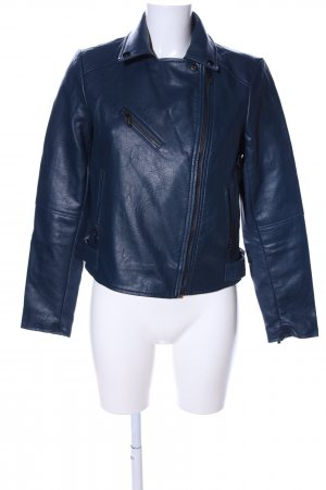 Morgan Biker Jacket blue casual look