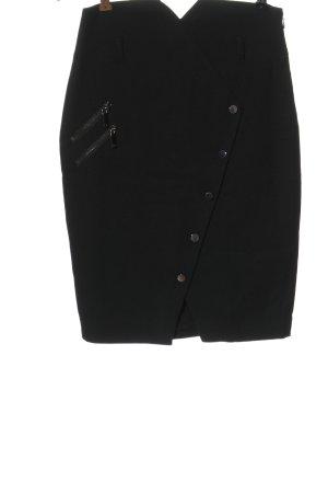 Morgan Falda de tubo negro look casual