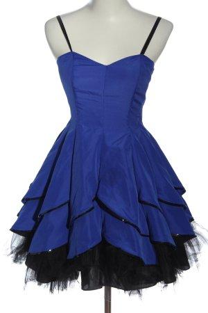 Morgan & Co. by Linda Bernell Vestido babydoll azul elegante
