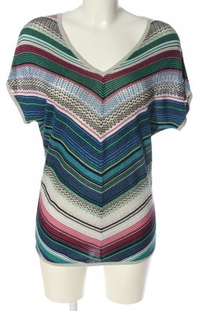 Morgan de Toi Gebreid shirt volledige print casual uitstraling