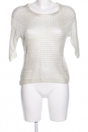 Morgan Crochet Shirt natural white casual look