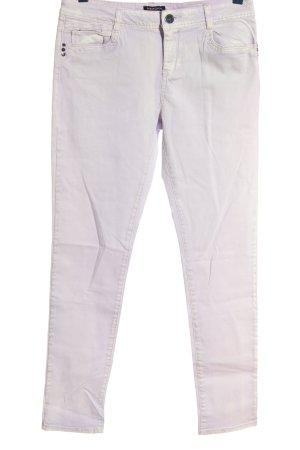 Morgan Jeans a vita alta lilla stile casual