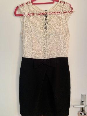 Morgan Vestido de cóctel blanco-negro