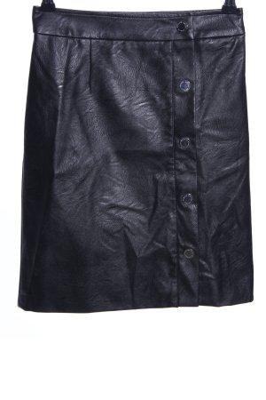 Morgan Rok van imitatieleder zwart casual uitstraling