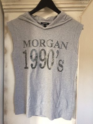 A.J.Morgan Sweat à capuche gris coton