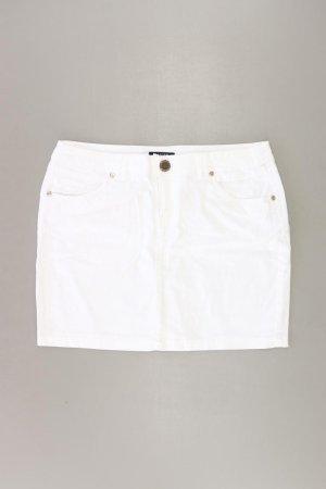Morgan Spódnica midi w kolorze białej wełny