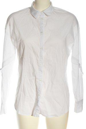 Morgan Camisa de manga larga blanco estilo «business»