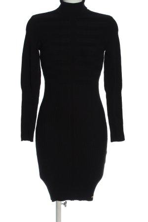 Morgan Vestido de manga larga negro look casual
