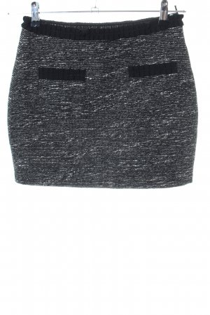 Morgan Minirock schwarz-weiß meliert Casual-Look
