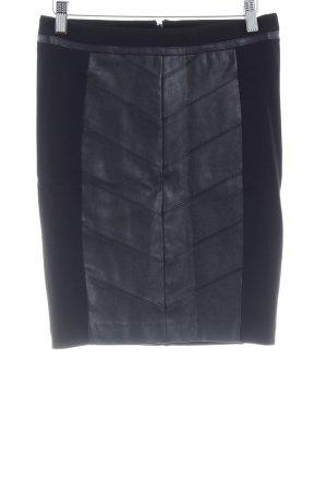 Morgan Minirock schwarz extravaganter Stil