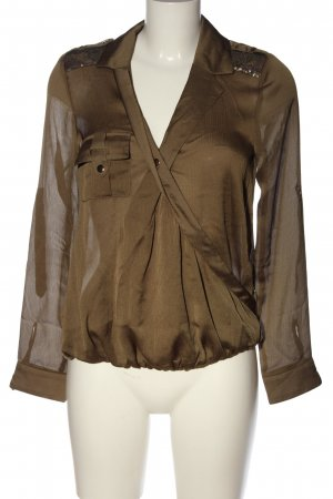 Morgan Schlupf-Bluse khaki Elegant