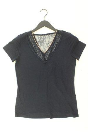 Morgan Camisa con cuello V azul-azul neón-azul oscuro-azul celeste Viscosa