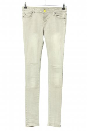 Morgan Skinny Jeans hellgrau Casual-Look