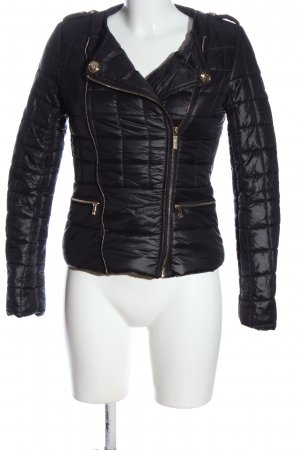 Morgan Steppjacke schwarz Steppmuster Casual-Look