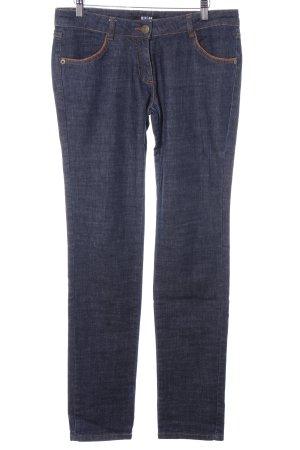 Morgan Straight-Leg Jeans dunkelblau Casual-Look