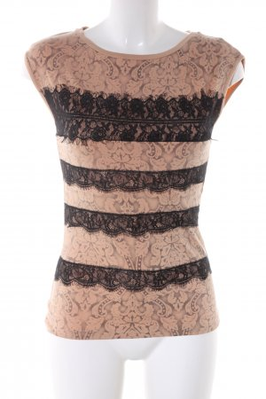 Morgan T-Shirt nude-schwarz Casual-Look