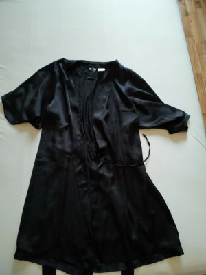 H&M Dressing Gown black